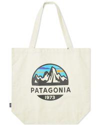 Patagonia - Fitz Roy Scope Logo Market Tote Bag - Lyst