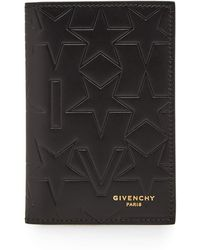 Givenchy - Embossed Star Logo Card Holder - Lyst