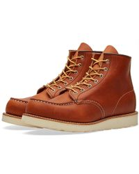 """Red Wing - 875 Heritage Work 6"""" Moc Toe Boot - Lyst"""