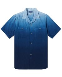 Blue Blue Japan - Faded Indigo Shirt - Lyst