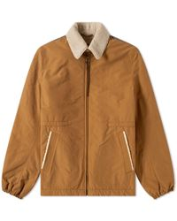 Lanvin - Shearling Collar Jacket - Lyst