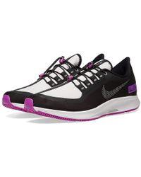 ed6615d607d81 Lyst - Nike Air Zoom Pegasus 34 Shield in Black for Men