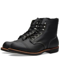 """Red Wing - 8114 Heritage 6"""" Iron Ranger Boot - Lyst"""