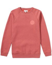 Soulland - Lisner Logo Embroidered Crew Sweat - Lyst
