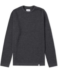 Norse Projects - Skagen All Over Bubble Knit - Lyst