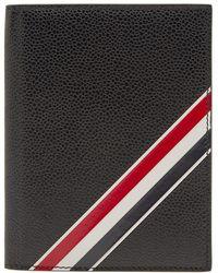Thom Browne - Diagonal Stripe Passport Holder - Lyst