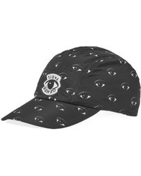 732bcfeca69 Kenzo Embroidered Eye Print Cap in Black for Men - Lyst