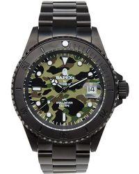 A Bathing Ape - 1st Camo Type 1 Bapex Watch - Lyst