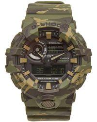 G-Shock - Casio Ga-700cm-3aer Camo Watch - Lyst