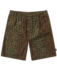 8a4cd6ae82 Stussy Reversible Paisley Short in Green for Men - Lyst