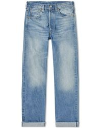 5d3ca496622 Levi's Levi's 501 Jeans One Wash Dark Blue Straight Leg Jeans in ...