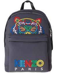 KENZO - Tiger Backpack 'high Summer' - Lyst