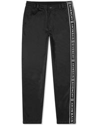 Givenchy - Popper Detail Taped Track Pant - Lyst