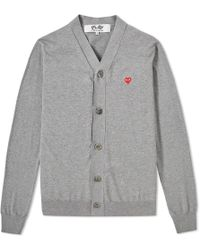 Play Comme des Garçons - Comme Des Garcons Play Little Red Heart Cardigan - Lyst