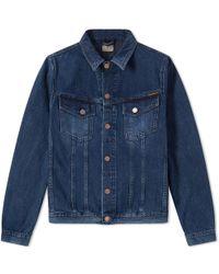Billy Slim-fit Stretch-cotton Corduroy Jacket - BlackNudie Jeans Achat En Ligne ou5QcdK9J