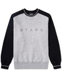 WTAPS - Design System Crew Sweat - Lyst