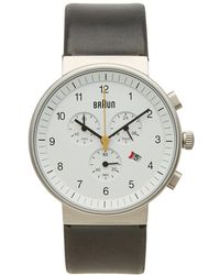Braun - Bn0035 Chronograph Watch - Lyst