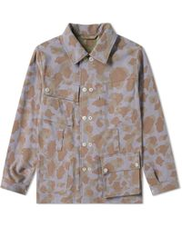Nigel Cabourn - Reversible Camo Jacket - Lyst