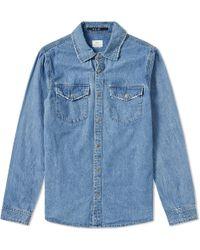 Ksubi - De Nimes Archive Blue Shirt - Lyst