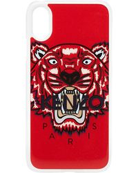KENZO - Silicone Tiger Iphone X Case - Lyst