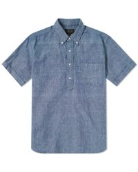 Beams Plus - Popover Chambray Shirt - Lyst