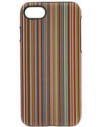Paul Smith - Classic Stripe Iphone 8 Case - Lyst