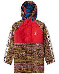 c538c69a4fb40 Lyst - adidas Pharrell Williams Hu Holi Sst Track Jacket in Blue for Men