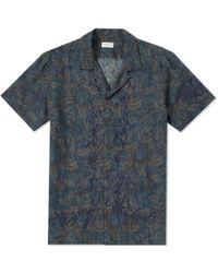Dries Van Noten - Short Sleeve Embroidered Vacation Shirt - Lyst