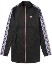 Nike - Taped Poly Track Jacket - Lyst