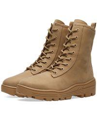 Yeezy   Combat Boot   Lyst
