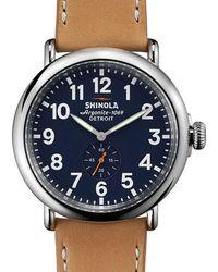 Shinola - Runwell 47mm Watch - Lyst
