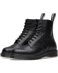 Dr. Martens - Dr. Martens X Joy Division Unknown Pleasures Boot - Lyst