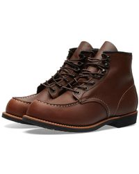 Red Wing - 2954 Heritage Work Cooper Moc Toe Boot - Lyst