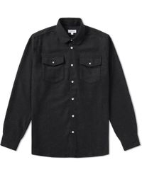 Soulland - Flannel Overshirt - Lyst