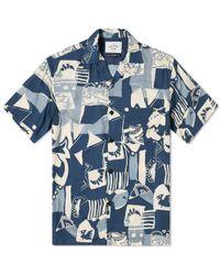 Portuguese Flannel - Blue Cuca Shirt - Lyst