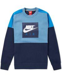 Nike - Heritage Air Crew Sweat - Lyst