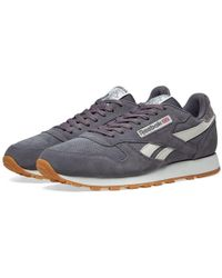 537622dc476 Lyst - Reebok Classic Leather Nm Shoes in Gray for Men