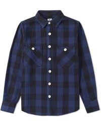 Sasquatchfabrix | Sashiko Block Check Shirt | Lyst
