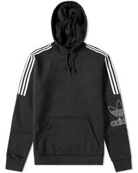 adidas - Outline Hoody - Lyst