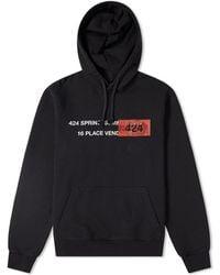 424 Ss19 Hoody - Black
