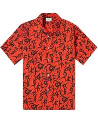 Aries - Short Sleeve Hawaiian Shirt - Lyst