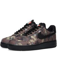 super popular e5346 c1d3f Nike - Air Force 1  07 We  camo Pack  Italy - Lyst