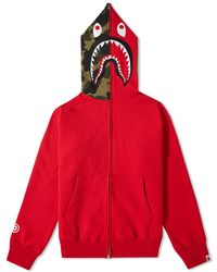 A Bathing Ape - Shark Zip Hoody - Lyst