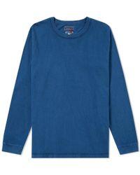 Blue Blue Japan - Long Sleeve Inside Out Tee - Lyst