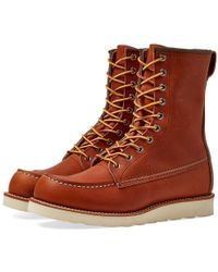 "Red Wing - 877 Heritage Work 8"" Moc Toe Boot - Lyst"
