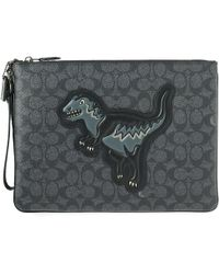 COACH - Rexy Signature Pouch - Lyst
