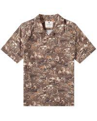 af09e2ff Snow Peak - Printed Quick Dry Aloha Shirt - Lyst