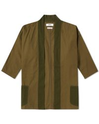 FDMTL - Kimono Short Coat - Lyst