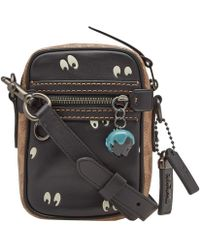 COACH - X Disney Eyes Mini Dylan Messenger Bag - Lyst