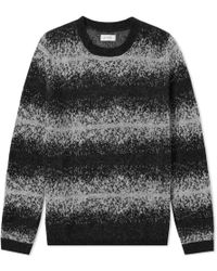 Saturdays NYC - Wade Ombre Stripe Crew Knit - Lyst
